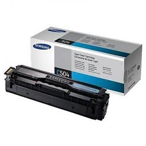 Samsung CLT-C504S/SU027 Cyan Toner Cartridge