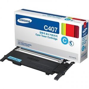 Samsung CLT-C407S/ST998 Cyan Toner Cartridge