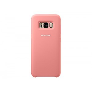 Samsung SAMSUNG DREAM SILICONE COVER PINK S8PLUS Cover