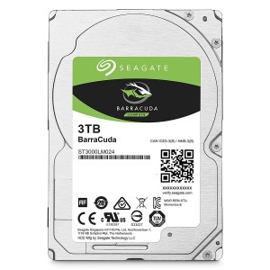 Seagate ST3000LM024 3TB Barracuda Sata 6GB/s 128MB Cache 2.5-Inch 15mm Internal Bare/OEM Hard Drive