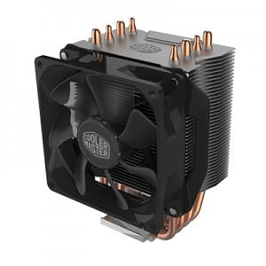 Coolermaster RR-H412-20PK-R2 Hyper H412R Non-LED Intel LGA775 / 2066 AMD AM4 / FM2 + 92x92x25mm 29.4dBa 600-2000RPM 4P