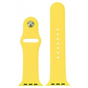 Apple Silicone Watch Strap 42mm-Yellow