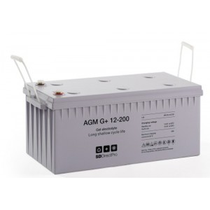 AGM G+ 12V 200Ah Gel Electrolyte Battery