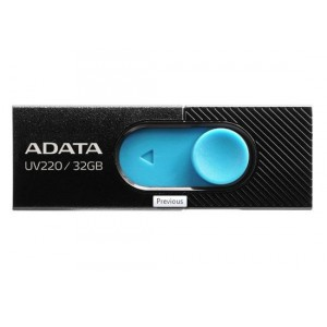Adata UV220-32G-RBKBL 32GB USB 2.0 USB Flash Drive