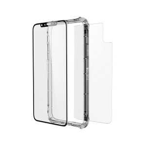 Zagg 200101025 invisibleSHIELD glass + contour 360 - Protective case for mobile phone - black
