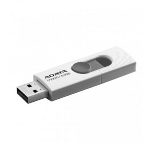 Adata UV220-64G-RWHGY 64GB USB 2.0 Capacity Gray, White USB Flash Drive