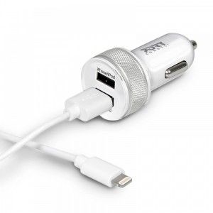 Port Design 900082 Connect - Apple Car Charger - with 2 USB