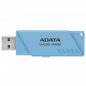Adata AUV230-64G-RBL 64GB USB 2.0 Flash Drive - Blue