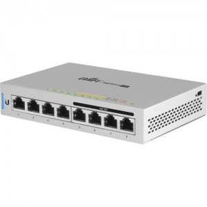 Ubiquiti UBNT-US-8-60W Networks US-8-60W UniFi 8-Port Gigabit PoE Compliant Managed Switch