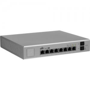 Ubiquiti  UBNT-US-8-150W Networks UniFi Managed PoE+ Gigabit 8 Port Switch with SFP (150 W)