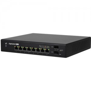 Ubiquiti UBNT-ES-8-150W Networks EdgeSwitch 8-Port 150-Watt Managed PoE+ Gigabit Switch with SFP