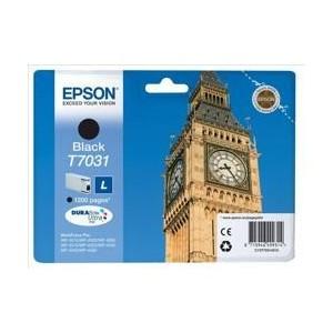 Epson  C13T70314010 T7031 Black L Ink Cartridge (1,200 Pages)