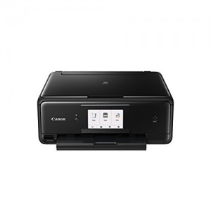 Canon 2231C063AA Pixma TS9140 - A4 MFP Printer - Black With Grey Lid Black (Printer, Copy, Scan)