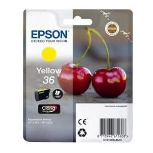 Epson C13T36844A10 Yellow 36 Claria Home Ink