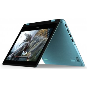 Acer Spin 1 11.6'' Multi-touch HD Celeron N3350 2GB 500GB WiFi Windows 10 Home Blue and Black(SP111-31-C039)