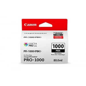 Canon PFI-1000 PBK LUCIA PRO Photo Black Ink Tank (80ml)