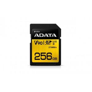 Adata SDX256GUII3CL10 Premier ONE V90 256GB SDXC UHS-II Class 10 memory card