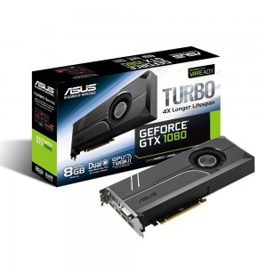 Asus TURBO-GTX1080-8 GeForce GTX 1080 Turbo Graphics Card