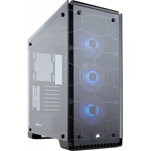 Corsair CC-9011098 Crystal Series 570X RGB - Tempered Glass, Premium ATX Mid-Tower Case Cases