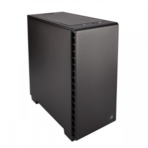 Corsair CC-9011100 Mid-Tower ATX Silent Computer Case with Fan Controller