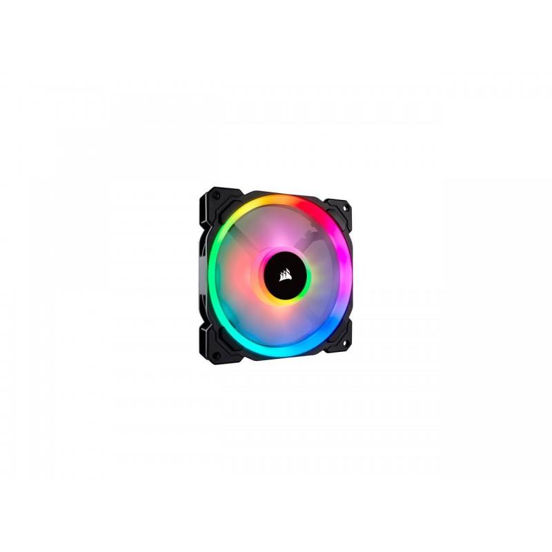 Corsair CO-9050073   ll Series ll140 RGB 140mm Dual Light Loop RGB LED PWM Fan