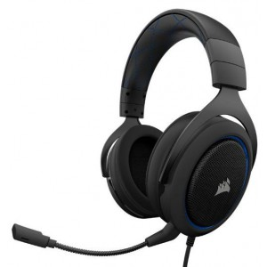 Corsair CA-9011172 HS50 Stereo Blue Gaming Headset