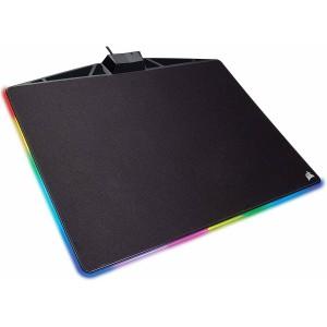 Corsair CH-9440021  Gaming EU MM800C RGB Polaris Gaming Mouse Pad - Black