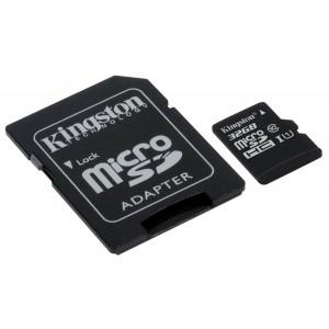 Kingston SDCS/32GB Canvas Select 32GB microSDHC Class 10 UHS-I 80MB/s Flash Memory Card