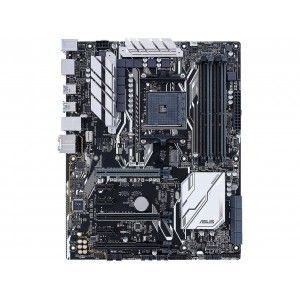 Asus PRIME X370-PRO AMD AM4 ATX Motherboard With Aura Sync, DDR4 3200MHz, 32Gb/s M.2, DP/HDMI, SATA 6Gb/s, USB 3.1