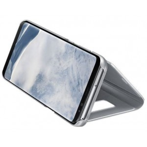 SAMSUNG DREAM CLEAR VIEW STANDING COVER SILVER  Clear View Standing Cover