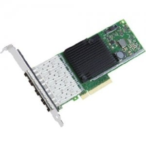 Intel X710-DA4, Quad-Port, SFP+, PCIe 3.0 x8 low-profile 10GBe