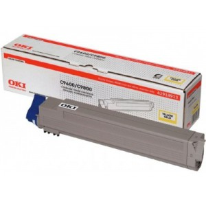 OKI 42918961 Yellow Toner Cartridge