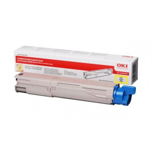OKI 43459345 Yellow Laser Toner Cartridge