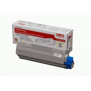 OKI 43872321 Yellow Laser Toner Cartridge
