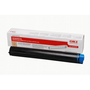 OKI 43640307 Black Laser Toner Cartridge