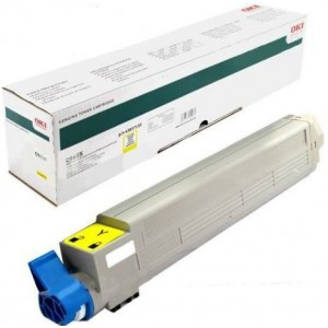 OKI 43837133 Yellow Laser Toner Cartridge