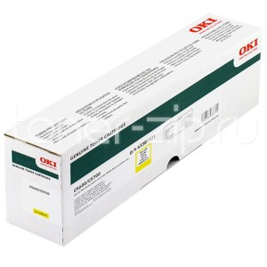 OKI 43381921 Yellow Laser Toner Cartridge