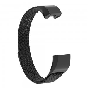 FITBIT ALTA Milanese Magnetic Watch Strap-Black