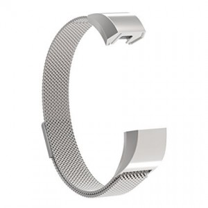 FITBIT ALTA Milanese Loop Watch Strap-Silver