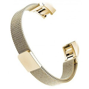 FITBIT ALTA Milanese Loop Watch Strap-Gold