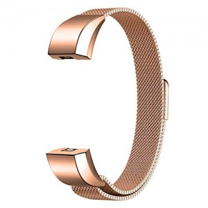 FITBIT ALTA Milanese Loop Watch Strap-Rose Gold
