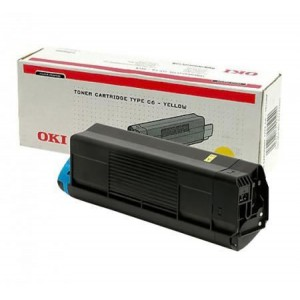 OKI 44844625 Yellow Laser Toner cartridge