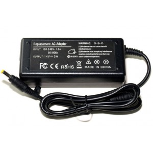 Replacement AC Power Adapter Input 100-240V 1.6A 50/60Hz Output 14V