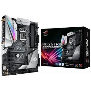Asus ROG STRIX Z370-E GAMING Intel Z370 ATX Gaming Motherboard with Aura Sync RGB LED lighting