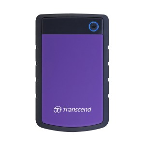 Transcend TS4TSJ25H3P StoreJet 25H3 2.5-inch USB3.0 Portable Hard Drive 4TB