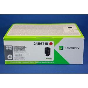 Lexmark 24B6718 Magenta Laser  Toner Cartridge