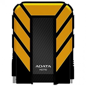 Adata AHD710-1TU3?CYL 1TB USB 3.0 Waterproof/ Dustproof/ Shock-Resistant External Hard Drive, Yellow