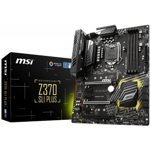 MSI MS-Z370 SLI PLUS SLI PLUS ATX Motherboard