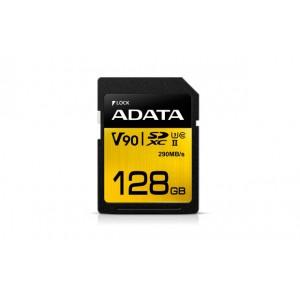 Adata SDX128GUII3CL10 Premier ONE V90 128GB SDXC UHS-II Class 10 memory card