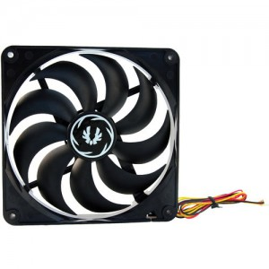 BitFenix BFF-SCF-12025KK Spectre 120mm Case Fan (Black)